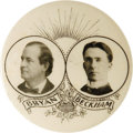 "Political:Pinback Buttons (1896-present), William Jennings Bryan: A Very Rare, Large Kentucky ""Coat-tail""Button. This attractive 1¾"" variety has always been consider..."