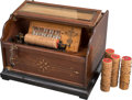 Other:American, A Walnut Concert Roller Organ, Ithaca, New York, circa 1902 .Marks: stamped JUN 26, 1902. 12-1/4 x 18 x 14-3/4 inches(... (Total: 2 Items)
