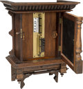 Decorative Arts, Continental:Other , A German Tabletop Coin-Operated Symphonion Music Box