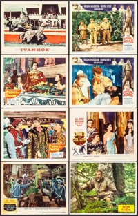 """The Three Musketeers & Others Lot (MGM, 1948). Lobby Cards (9), Lobby Card Sets of 8 (2 Sets) (11"""" X 14"""")..."""
