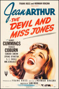 """Movie Posters:Comedy, The Devil and Miss Jones (RKO, 1941). One Sheet (27.5"""" X 41""""). Comedy.. ..."""