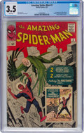 Silver Age (1956-1969):Superhero, The Amazing Spider-Man #2 (Marvel, 1963) CGC VG- 3.5 White...