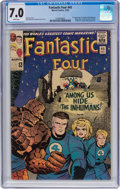 Silver Age (1956-1969):Superhero, Fantastic Four #45 (Marvel, 1965) CGC FN/VF 7.0 White page...