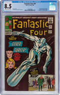 Silver Age (1956-1969):Superhero, Fantastic Four #50 (Marvel, 1966) CGC VF+ 8.5 Off-white to...