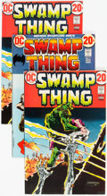 Bronze Age (1970-1979):Horror, Swamp Thing #2, 3, and 7 Group (DC, 1972-73) Condition: AverageVF.... (Total: 22 Comic Books)