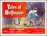 """The Tales of Hoffmann (United Artists, 1951). Half Sheet (22"""" X 28"""") Marc Stone Artwork. Musical"""
