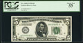 Fr. 1950-H $5 1928 Federal Reserve Note. PCGS About New 53