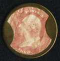 Encased Postage, HB-32 EP-34b 3¢ Ayer's Sarsaparilla Large Ayer's About New.. ...