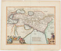Books:Maps & Atlases, Jan Jansson. Alexandri Magni Macedonis Expeditio. [Amsterdam: 1652 (or later)]. Original map from Accuratissima or...
