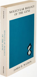 Books:Science & Technology, J. D. Watson. Molecular Biology of the Gene. New York: 1965.First edition, wrappers issue, signed....