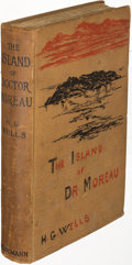 Books:Science Fiction & Fantasy, H. G. Wells. The Island of Doctor Moreau. London: [1896]. First edition, Lytton Strachey's copy....