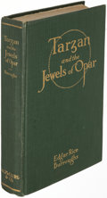 Books:Science Fiction & Fantasy, Edgar Rice Burroughs. Tarzan and the Jewels of Opar. Chicago: 1918. First edition....