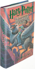 Books:Science Fiction & Fantasy, J. K. Rowling. Two Copies of The Prisoner of Azkaban. New York: 1999. First U. S. edition, signed.... (Total: 2 Items)