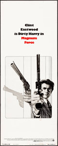 """Movie Posters:Action, Magnum Force (Warner Brothers, 1973). Insert (14"""" X 36""""). Action.. ..."""