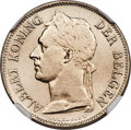 Belgian Congo, Belgian Congo: Belgian Colony. Albert 50 Centimes 1923/2 MS66NGC,...