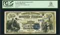 National Bank Notes:Maine, Rockland, ME - $20 1882 Date Back Fr. 553 The North NB Ch. #(N)2371. ...