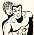 Animation Art:Production Drawing, The Marvel Super Heroes Sub-Mariner Inked Animation DrawingsOriginal Art Group of 3 (Marvel/Grantray-Lawrence Animati...(Total: 3 Original Art)