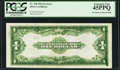 Error Notes:Large Size Errors, Fr. 238 $1 1923 Silver Certificate PCGS Extremely Fine 45PPQ.. ...