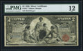 Large Size:Silver Certificates, Fr. 247 $2 1896 Silver Certificate PMG Fine 12.. ...