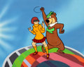 Animation Art:Presentation Cel, Yogi Bear and Velma Promotional Cel (Hanna-Barbera, c. 1970s)....