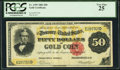 Large Size:Gold Certificates, Fr. 1195 $50 1882 Gold Certificate PCGS Very Fine 25.. ...