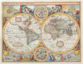 Books:Maps & Atlases, John Speed. A New and Accurat Map of the World. Drawne according to ye truest Descriptions latest Discoveries & be...