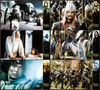 """The Lord of the Rings: The Return of the King (Metropolitan Filmexport, 2003). French Color Photo Set of 12 (16.5""""..."""