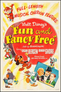 "Movie Posters:Animation, Fun and Fancy Free (RKO, 1947). One Sheet (27.25"" X 41""). Animation.. ..."