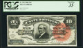Large Size:Silver Certificates, Fr. 293 $10 1886 Silver Certificate PCGS Very Fine 35.. ...