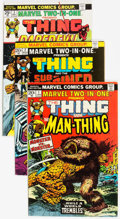 Bronze Age (1970-1979):Superhero, Marvel Two-In-One #1-100 Complete Series Box Lot (Marvel, 1974-83)Condition: Average VF+....