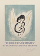 After Marc Chagall By Charles Sorlier Terre des Hommes, 1971 Lithograph in colors on Arches paper 18-3/4 x 15-5... (1)