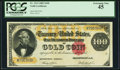 Large Size:Gold Certificates, Fr. 1214 $100 1882 Gold Certificate PCGS Extremely Fine 45.. ...