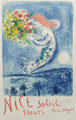 After Marc Chagall The Bay of Angel, poster, 1962 Lithograph in colors on paper 39-1/4 x 24-3/4 inches (99.7 x 62.9