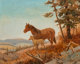 Olaf Wieghorst (American, 1899-1988) Mare and Colt Oil on canvas 16 x 20 inches (40.6 x 50.8 cm) Signed lower left: