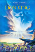 "Movie Posters:Animation, The Lion King (Buena Vista, 1994). One Sheet (27"" X 40"") DS Advance, John Alvin Artwork. Animation.. ..."