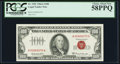 Small Size:Legal Tender Notes, Fr. 1551 $100 1966A Legal Tender Note. PCGS Choice About New 58PPQ.. ...