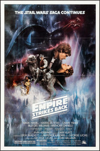 """The Empire Strikes Back (20th Century Fox, 1980). One Sheet (27"""" X 41"""") Style A, Roger Kastel Artwork. Science..."""