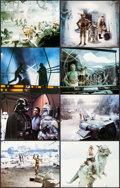 """Movie Posters:Science Fiction, The Empire Strikes Back (20th Century Fox, 1980). Deluxe Lobby Card Set of 8 (11"""" X 14""""). Science Fiction.. ... (Total: 8 Items)"""
