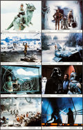 """Movie Posters:Science Fiction, The Empire Strikes Back (20th Century Fox, 1980). Lobby Card Set of 8 (11"""" X 14""""). Science Fiction.. ... (Total: 8 Items)"""