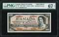 Canadian Currency, BC-43S $100 1954 Specimen.. ...