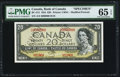 Canadian Currency, BC-41S $20 1954 Specimen.. ...