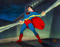 Animation Art:Limited Edition Cel, Superman The Magnetic Telescope Limited Edition Cel #360/500 Signed by Myron Waldman (DC/Fleischer Studios, 1995)....