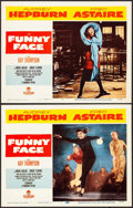 "Movie Posters:Romance, Funny Face (Paramount, 1957). Lobby Cards (2) (11"" X 14""). Romance.. ... (Total: 2 Items)"