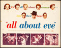 "Movie Posters:Academy Award Winners, All About Eve (20th Century Fox, 1950) Rolled, Fine/Very Fine. Half Sheet (22"" X 28"") Style A. Academy Award Winners...."