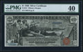 Large Size:Silver Certificates, Fr. 224 $1 1896 Silver Certificate PMG Extremely Fine 40.. ...