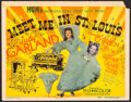 "Movie Posters:Musical, Meet Me in St. Louis (MGM, 1944). Title Lobby Card (11"" X 14""). Musical.. ..."