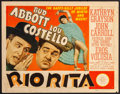 "Movie Posters:Comedy, Rio Rita (MGM, 1942). Title Lobby Card (11"" X 14""). Comedy.. ..."