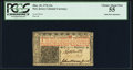 Colonial Notes:New Jersey, New Jersey March 25, 1776 12s PCGS Choice About New 55.. ...
