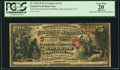 San Francisco, CA - $5 1870 Fr. 1136 The First National Gold Bank Ch. # 1741