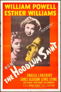 "The Hoodlum Saint (MGM, 1946). Folded, Fine. One Sheet (27"" X 41""). Drama"